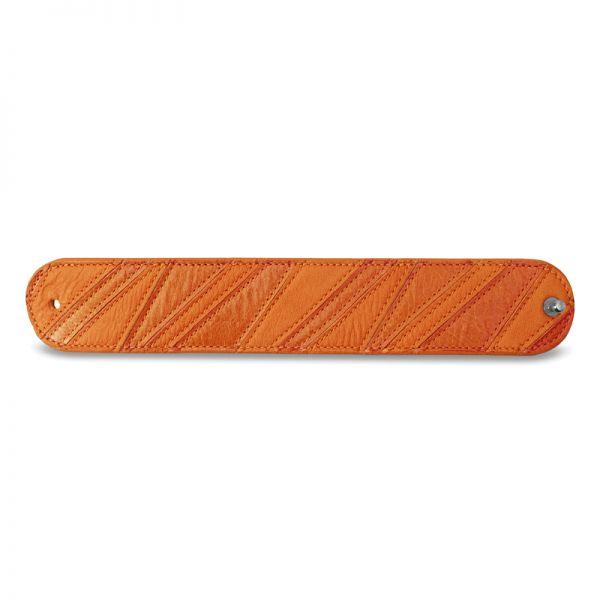 Gretchen - Linear Bracelet - Pumpkin Orange