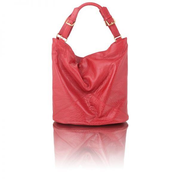 Gretchen - Swing Large Shopper - Lipstick Red