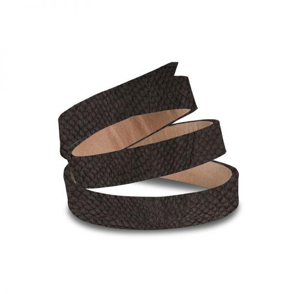 Gretchen - Triple Bracelet - Black Salmon