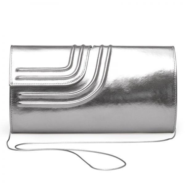 Gretchen - Tango Clutch Two - Sparkling Silver