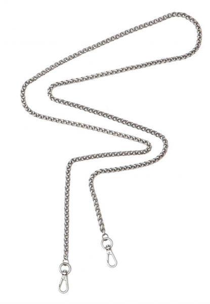 Gretchen - foxtail shoulder chain M long - silver