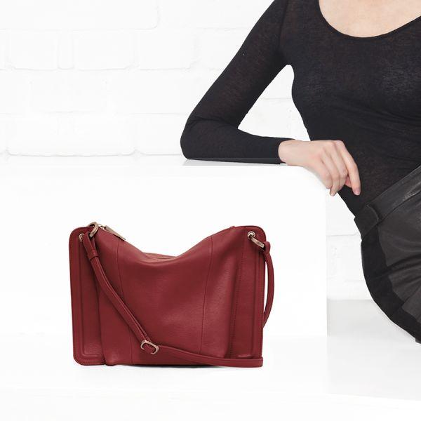 Gretchen - Lyra Shoulderbag Two - Lipstick Red