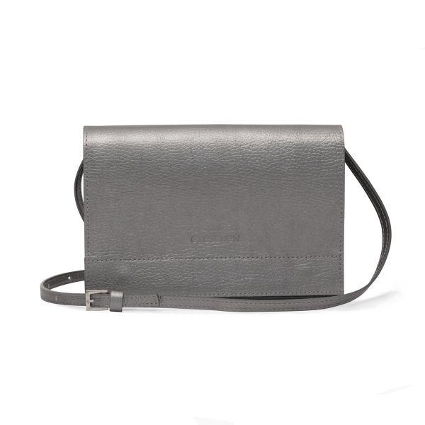 Gretchen - Dahlia Small Shoulderbag - Dark Silver