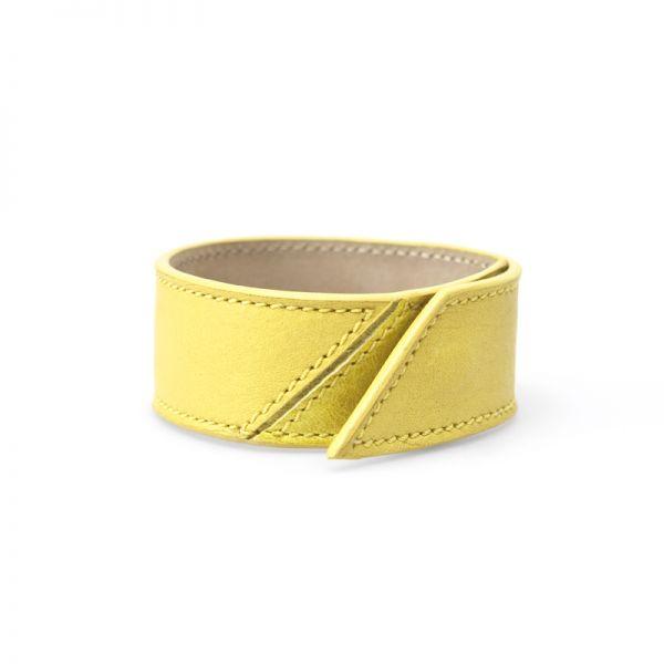 Gretchen - Bracelet Two - Lemon Yellow