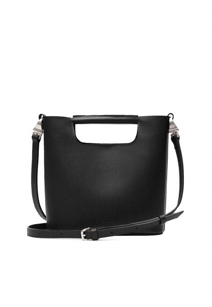 Gretchen - Crocus Small Shoulderbag - Midnight Black