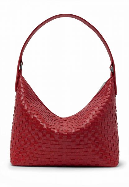 Gretchen - Chess Hobo Two - Cranberry Red