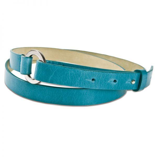 Gretchen - Loop Belt - Aqua Blue