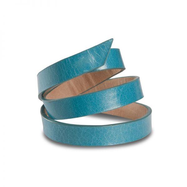 Gretchen - Triple Bracelet - Aqua Blue