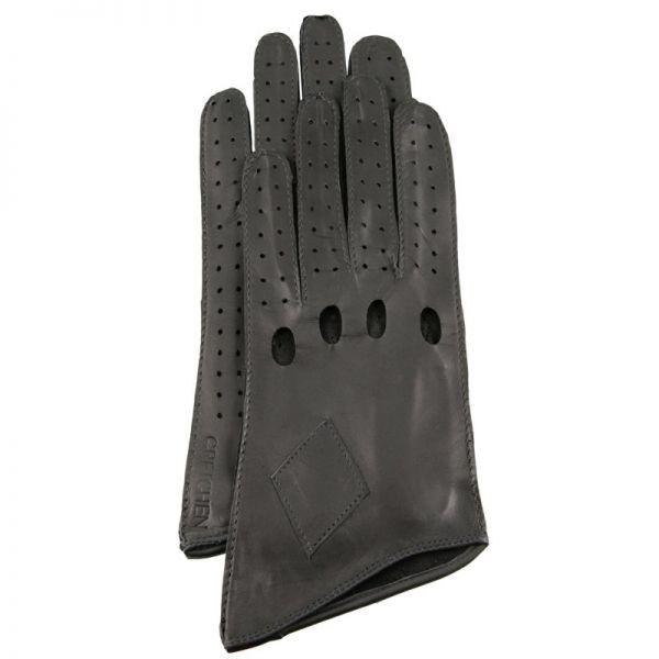 Gretchen - Long Car Gloves GL8 - Gray