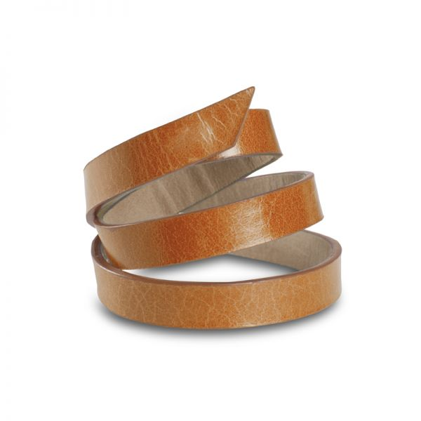 Gretchen - Triple Bracelet - Cognac Brown