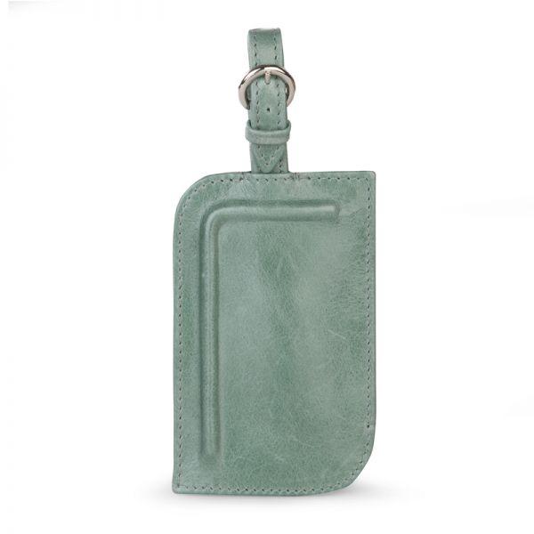 Gretchen - Tango Luggage Tag Two - Eucalyptus Green