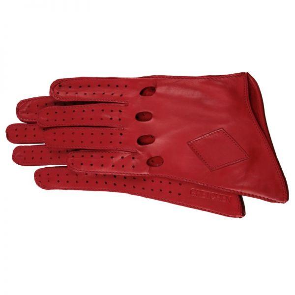 Gretchen - Long Car Gloves GL8 - Red