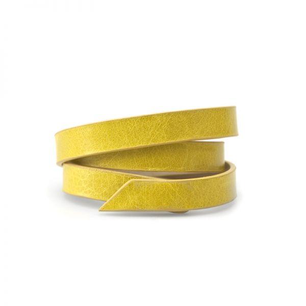 Gretchen - Triple Bracelet - Lemon Yellow