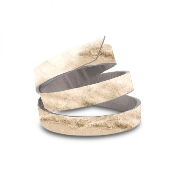 Gretchen - Triple Bracelet - Platinum Gold