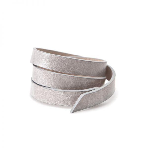 Gretchen - Triple Bracelet - Lightning Gray
