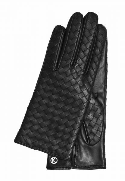 Gretchen - Gl24 Woven Glove - Deep Black - 6,5
