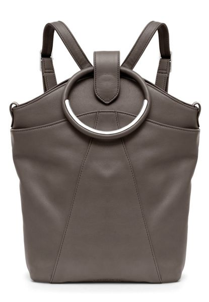 Gretchen - Maple Metal Backpack - Stone Gray