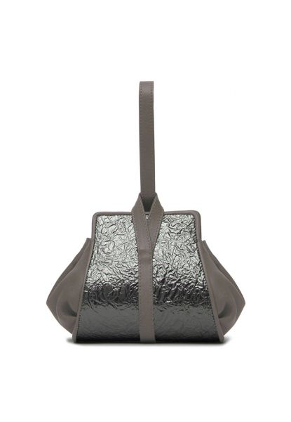 Gretchen - Tango Mini Pouch - Slate Crash Metallic