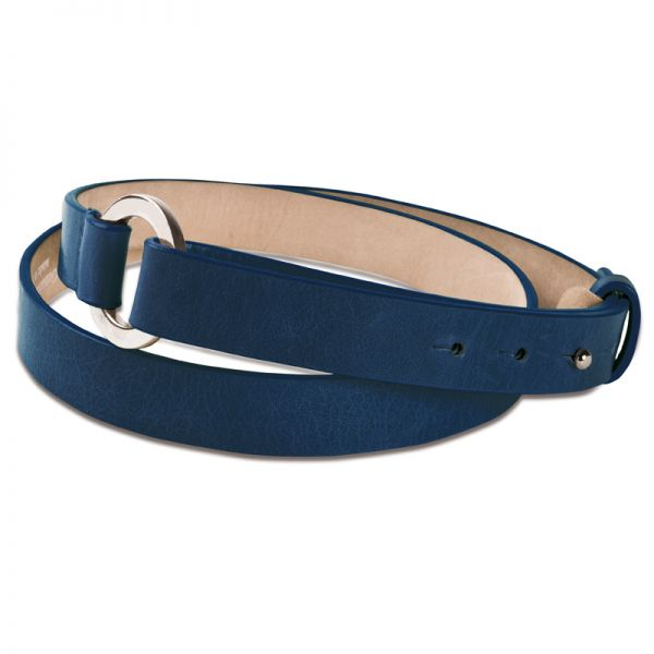 Gretchen - Loop Belt - Twilight Blue