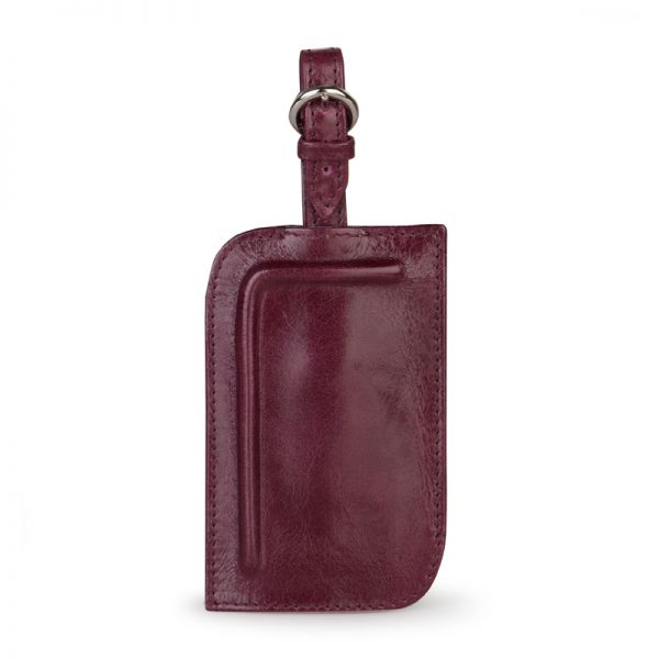 Gretchen - Tango Luggage Tag Two - Beetroot Red