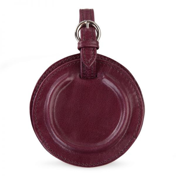 Gretchen - Tango Luggage Tag - Beetroot Red