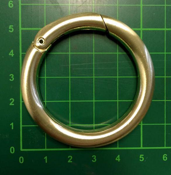 Gretchen - 40mm Ø Snap Ring - gold brushed