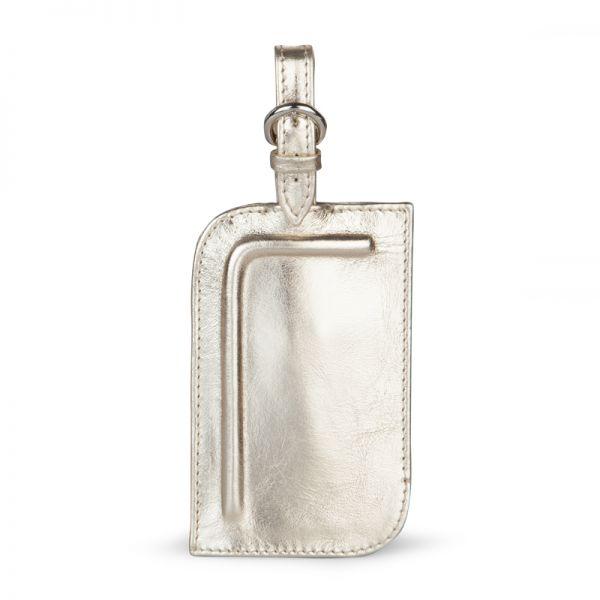 Gretchen - Tango Luggage Tag Two - Platinum Gold