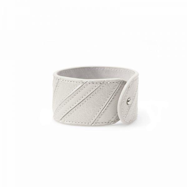Gretchen - Linear Bracelet - Lightning Gray