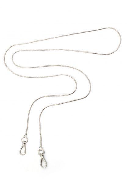 Gretchen - foxtail shoulder chain - Silver