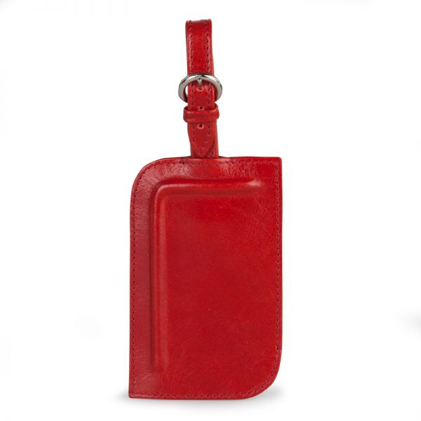 Gretchen - Tango Luggage Tag Two - Lipstick Red