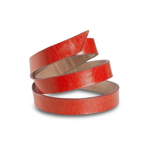 Gretchen - Triple Bracelet - Lipstick Red