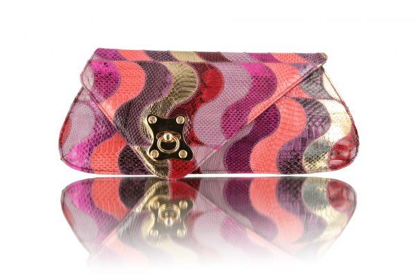 Gretchen - Zeitgeist Clutch - Watersnake Multicolor