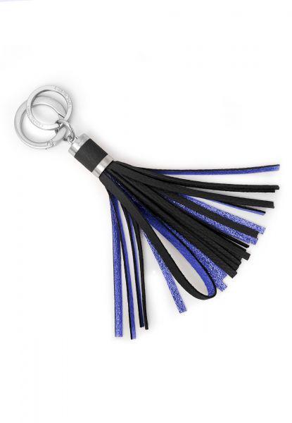 Gretchen - Tassel Keyholder - Piano Black Blue