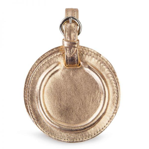 Gretchen - Tango Luggage Tag - Platinum Gold