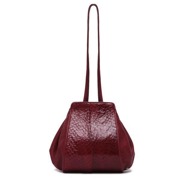 Gretchen - Zeitgeist Tango Small Shoulderbag - Royal Red Glazed Perch