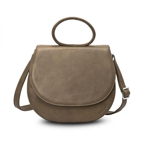 Gretchen - Ebony Loop Bag - Taupe