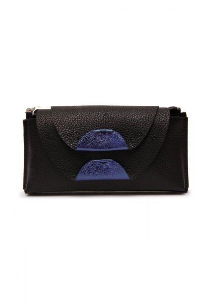 Gretchen - Opal Smartphone Purse - Piano Black Blue