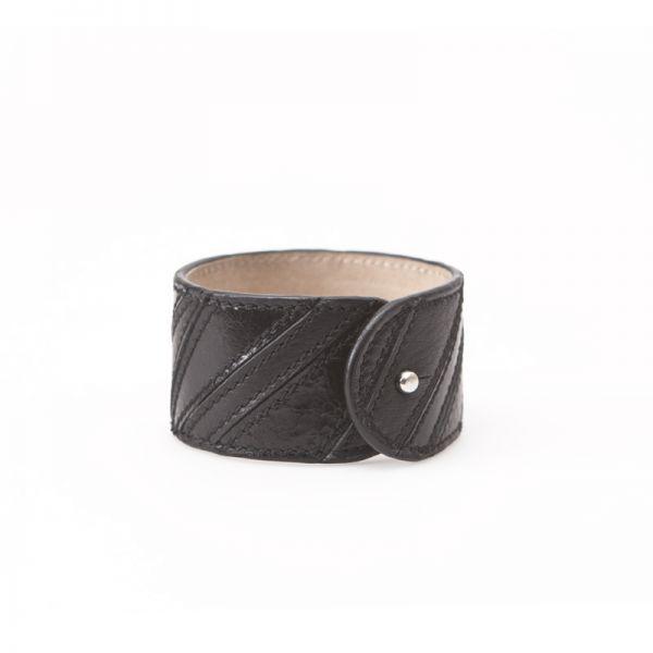 Gretchen - Linear Bracelet - Midnight Black