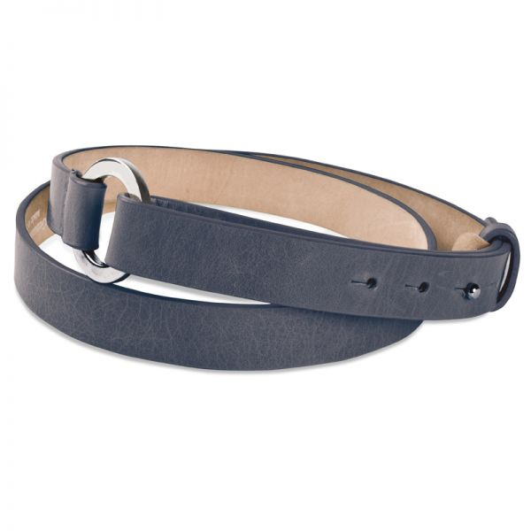 Gretchen - Loop Belt - Smoke Gray