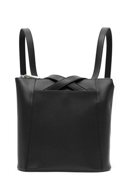 Gretchen - Crocus Midi Backpack - Midnight Black