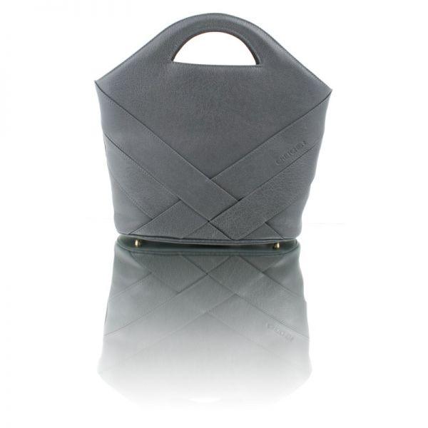 Gretchen - Swing Shopper - Stone Gray